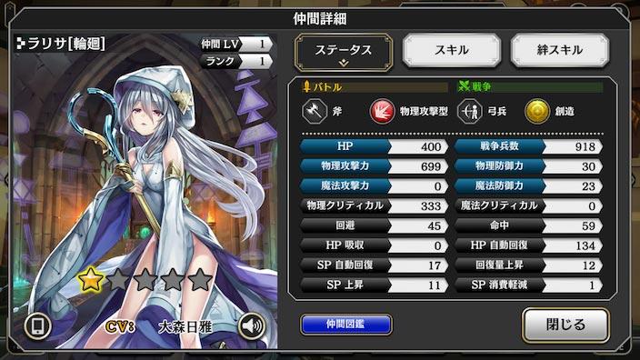アルカラスト_キャラクター