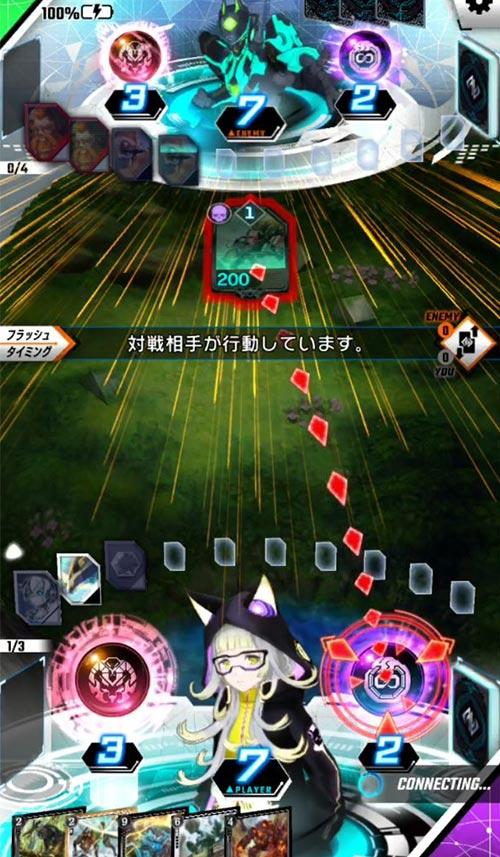 ゼノンザード_戦闘システム_フラッシュタイミング